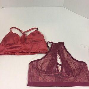 Women's NWT Victoria's Secret Bralette Bundle L